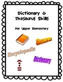 Dictionary & Thesaurus Skills