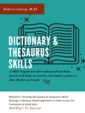 Dictionary & Thesaurus Skills (1-3 Grades)