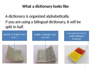 Dictionary Training