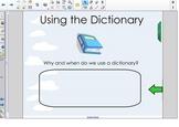 Dictionary Unit