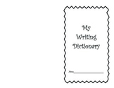 My Writing Dictionary Word Book Personal Word Wall 2nd grade My Writing Words
