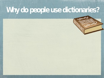 Dictionary and Context Clues