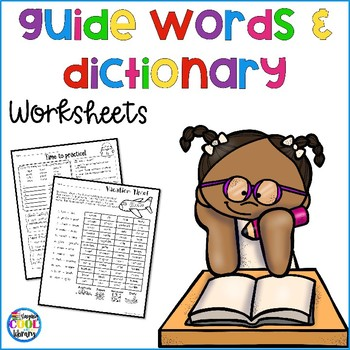 Dictionary and Guide words