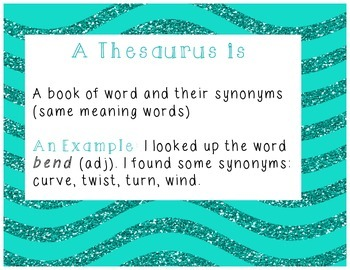 Dictionary and Thesaurus Definitions