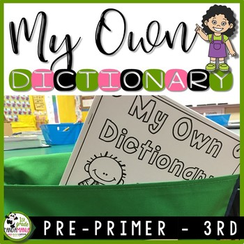 Dictionary for K-3 Sight Word Reading and Writing Resource