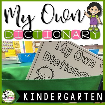 Dictionary for Kindergarten - A Reading and Writing Sight