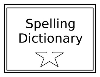 Dictionary for Young Writers
