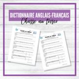 Dictionnaire - Chasse au trésor - French-English Dictionar