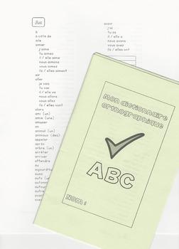 Dictionnaire orthographique en 3 formats