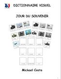 Dictionnaire visuel sur le jour du souvenir, French Immersion (#275)