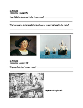 Did Columbus Really Discover America? comprehension packet