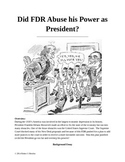 Did FDR Abuse His Power as President?