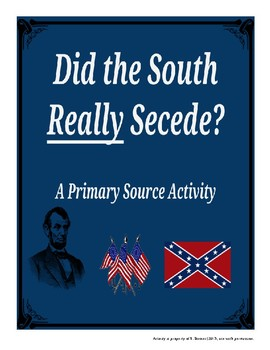 Did The South Really Secede?