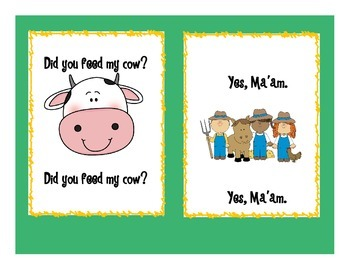Did You Feed My Cow?