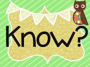 Did You Know? Bulletin Board Labels