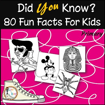 Did You Know? - 60 Fun Facts For Kids