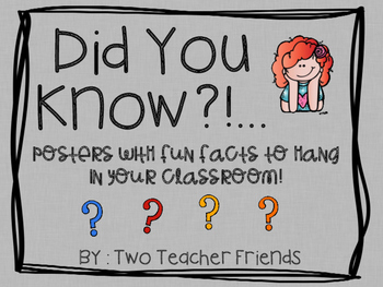 Did You Know? Fun Facts