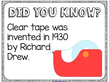 Did You Know? Fun Facts For Your Classroom {Back to School}