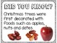 Did You Know? Fun Facts For Your Classroom {Christmas}