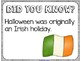 Did You Know? Fun Facts For Your Classroom {Halloween}