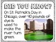 Did You Know? Fun Facts For Your Classroom {St. Patrick's Day}