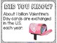 Did You Know? Fun Facts For Your Classroom {Valentine's Day}