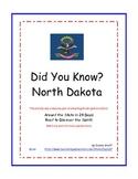 Did You Know? North Dakota