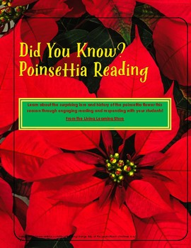 'Did You Know' Poinsettia Reading