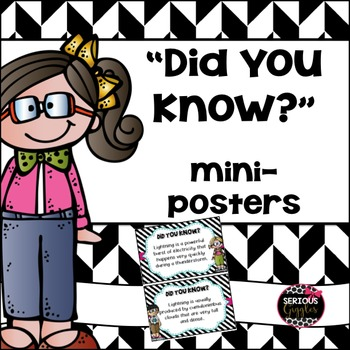 Did You Know? posters