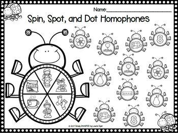 Did You Spot A Bug:  NO PREP Bingo Dauber Phonics Activities