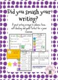Did you SMASH your writing?