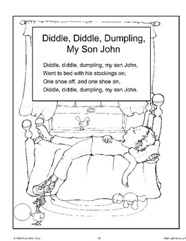 Diddle, Diddle, Dumpling, My Son John