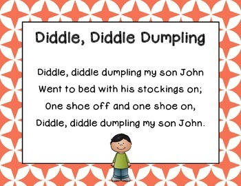 """Diddle, Diddle Dumpling"" a lesson exploring singing, phrases, and instruments"
