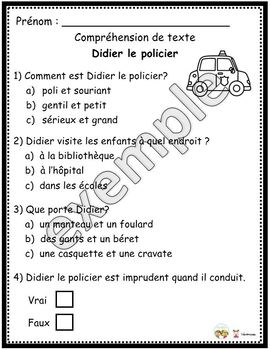 Didier le policier