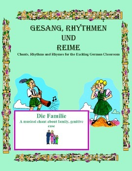 German Musical Chant About Family and Genitive Case - Die Familie