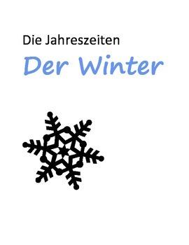 The seasons - word puzzle - Die Jahreszeiten - Wort-Puzzle