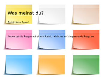 Enviroment - Die Umwelt - Introduction Activity for German Students