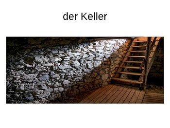 Die Zimmer / Mein Haus / Rooms in a house / My house