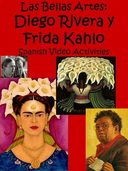 Diego Rivera and Frida Kahlo Video Activities in Spanish