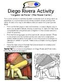 Diego Rivera & Frida Kahlo Activity for Spanish Students
