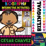 Cesar Chavez - Interactive Activities - Dual Language