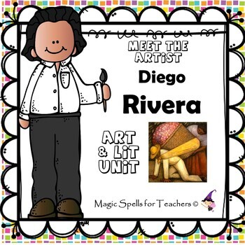 Diego Rivera - Meet the Artist - Artist of the Month - Lit Unit