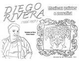 Diego Rivera (Mexican Artist) Coloring Page - Hispanic Her