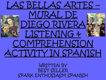 Diego Rivera Mural Video Activity in Spanish