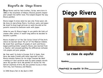 Diego Rivera easy reading comprehension (bilingual)