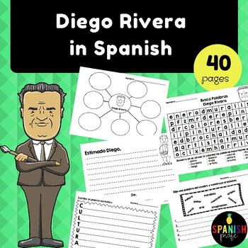 Diego Rivera in Spanish (Actividades / Escritura Diego Rivera)