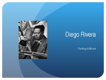 Diego Rivera's Paintings and Murals