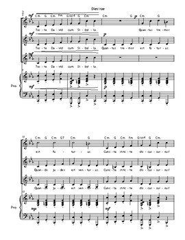 Dies Irae (from the Requiem Mass, Roman Missal)