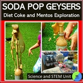 Diet Coke And Mentos Lab | Discover Physical Changes With Soda Pop Geysers