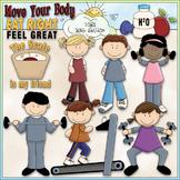Diet and Exercise Clip Art - Health & Diet Clip Art - CU C
